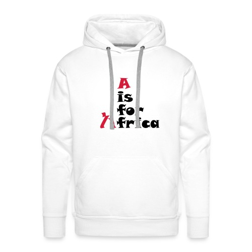 A is For Africa - Men's Premium Hoodie
