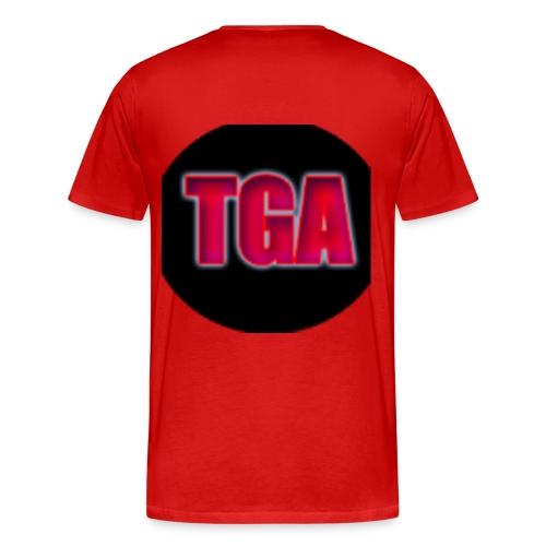 mens TheGamingAnvil t-shirt - Men's Premium T-Shirt