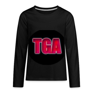 TheGamingAnvil long sleaved t-shirt - Teenagers' Premium Longsleeve Shirt