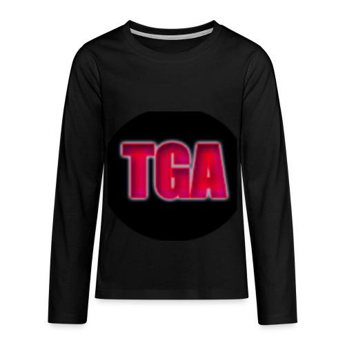 TheGamingAnvil long sleaved t-shirt - Teenagers' Premium Longsleeve Shirt