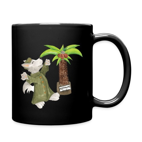 Operation Palme für den Kaffee - Tasse einfarbig