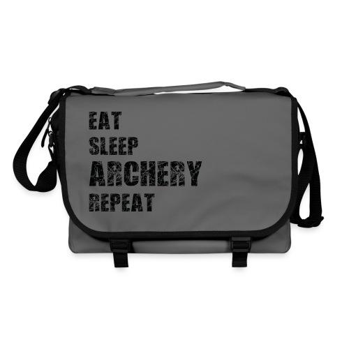 Umhängetasche - EAT SLEEP ARCHERY REPEAT - Umhängetasche