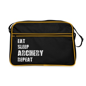 Retro Tasche - EAT SLEEP ARCHERY REPEAT - Retro Tasche