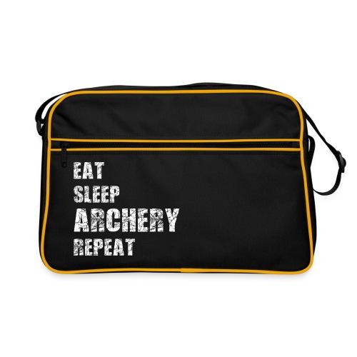 Retro Tasche - EAT SLEEP ARCHERY REPEAT - Retro Tasche