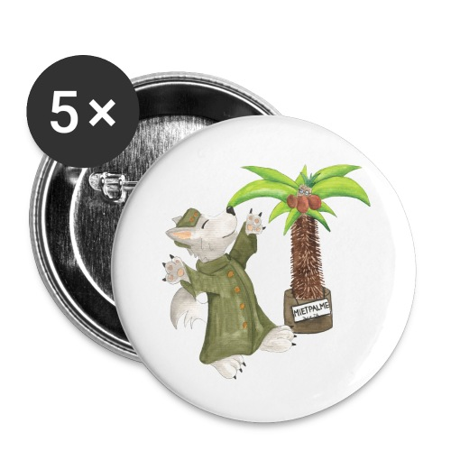 Operation Palme Buttons - Buttons groß 56 mm (5er Pack)