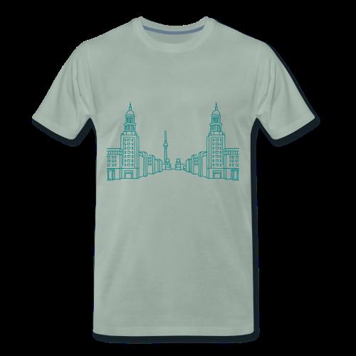 Frankfurter Tor Berlin Friedrichshain  - Männer Premium T-Shirt