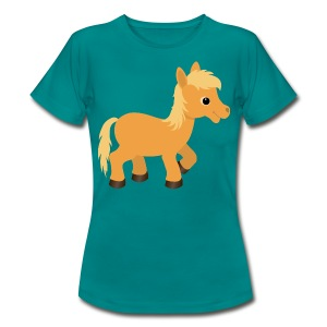 Cute Palomino Pony Horse - Women's T-Shirt