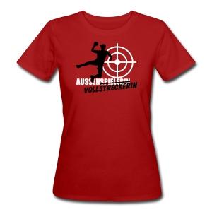 Aussenvollstreckerin rot - Frauen Bio-T-Shirt