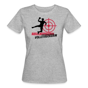 Aussenvollstreckerin grau - Frauen Bio-T-Shirt