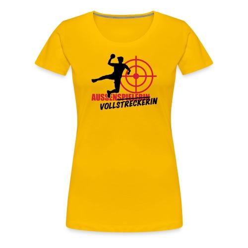 Aussenvollstreckerin (freie Farbwahl) - Frauen Premium T-Shirt