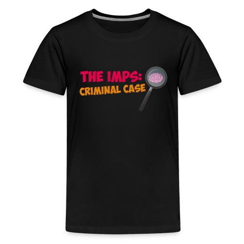 Crappy Werewolf Jokes The Imps Criminal Case Tee - Teenage Premium T-Shirt