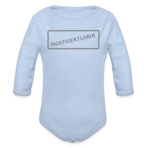 Mostviertlarin Baby - Baby Bio-Langarm-Body