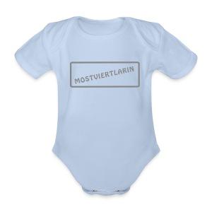 Mostviertlarin Baby kurz - Baby Bio-Kurzarm-Body
