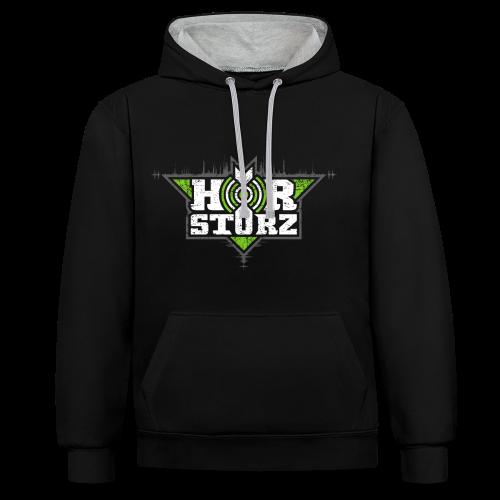 Hoodie Green Edition - Kontrast-Hoodie