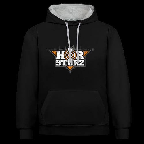 Hoodie Orange Edition - Kontrast-Hoodie