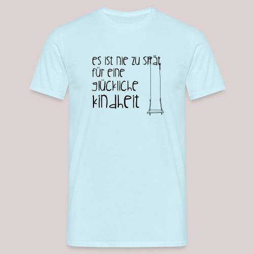 12-30 glückliche Kindheit - Männer T-Shirt
