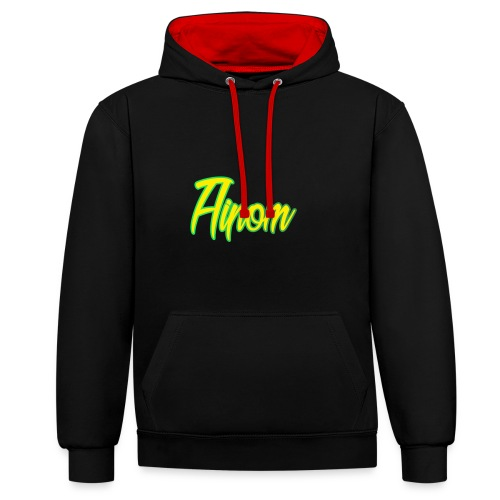 Zolo aipom hoodie! - Contrast Colour Hoodie