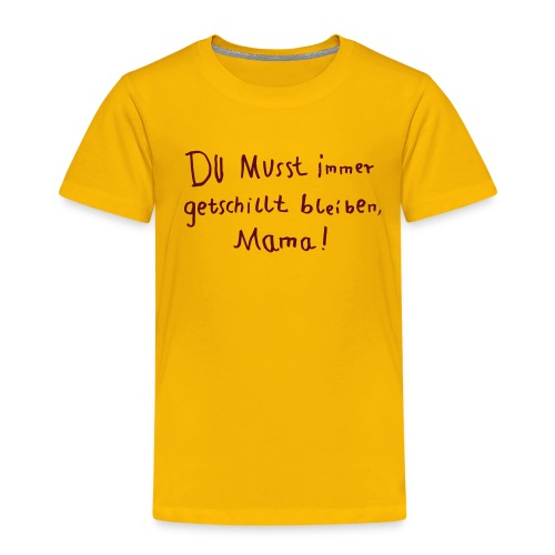 getschillt mama - Kinder Premium T-Shirt