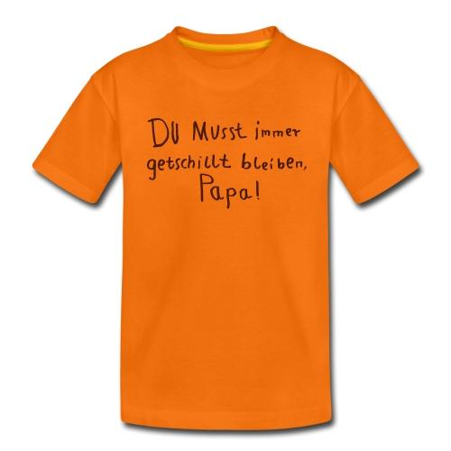 getschillt papa - Kinder Premium T-Shirt