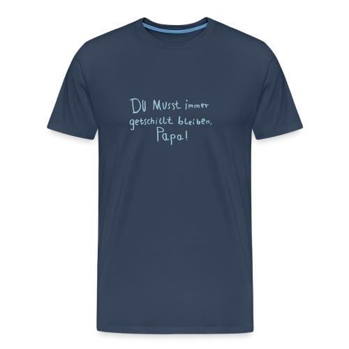 getschillt papa - Männer Premium T-Shirt