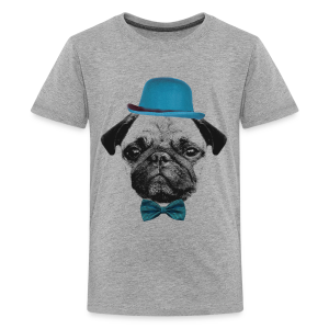 Mops Puppy - Teens - Teenager Premium T-Shirt