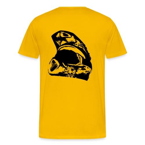 Unterholz Helm - Männer Premium T-Shirt