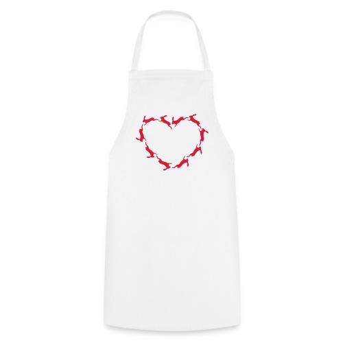 Hoppy Heart - Kochschürze