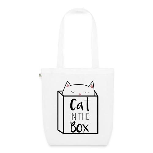 Cat in the Box Bag - Bio-Stoffbeutel