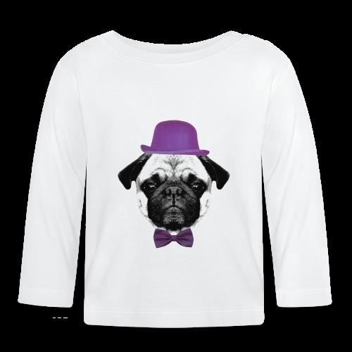 Mops Puppy - Baby Langarmshirt