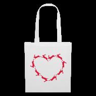 Taschen & Rucksäcke ~ Stoffbeutel ~ Hoppy Heart