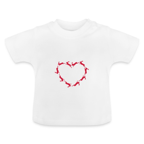 Hoppy Heart - Baby T-Shirt