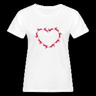 T-Shirts ~ Frauen Bio-T-Shirt ~ Hoppy Heart