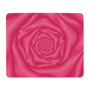 Spiral Rose in Pink - Mouse Pad (horizontal)
