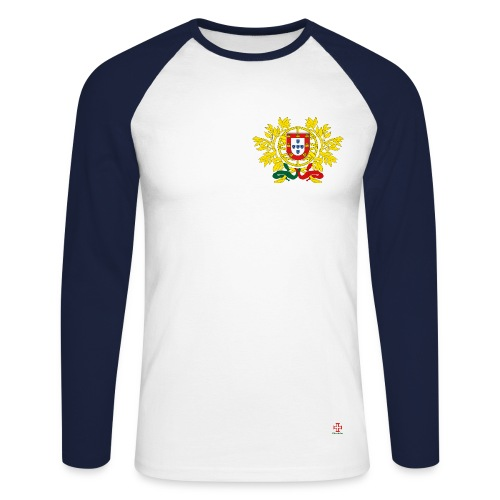 Tee Shirt Manches Longues Emblème - T-shirt baseball manches longues Homme