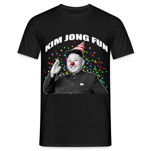 Kim Jong Fun (Noir - Homme) - T-shirt Homme