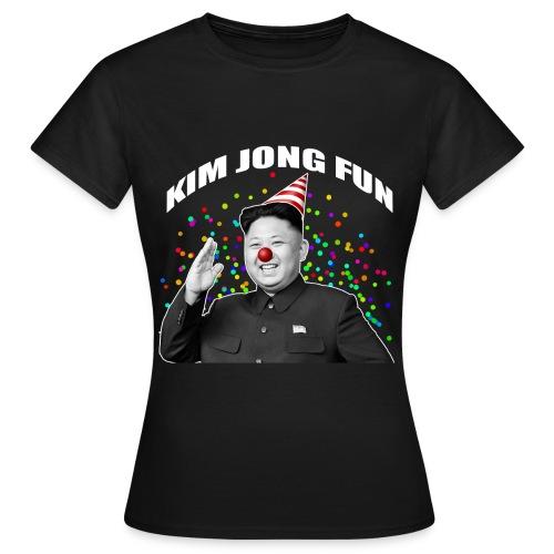 Kim Jong Fun (Noir - Femme) - T-shirt Femme