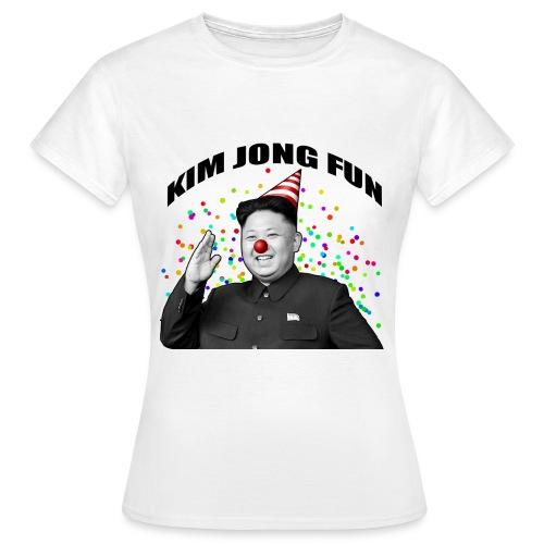 Kim Jong Fun (Blanc - Femme) - T-shirt Femme