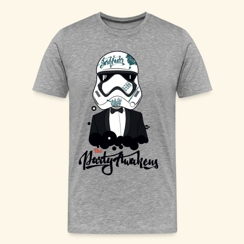 The party awakens T - men - T-shirt Premium Homme