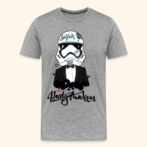 The party awakens T - men - T-shirt Premium Homme