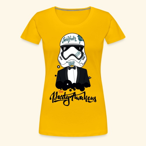 The party awakens T - women - T-shirt Premium Femme