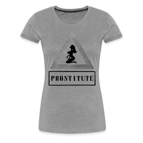 Ladies' Massive Honesty in color  - Dame premium T-shirt