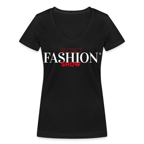 Secret Fashion Show® T-Shirt WOMEN - Frauen Bio-T-Shirt mit V-Ausschnitt von Stanley & Stella