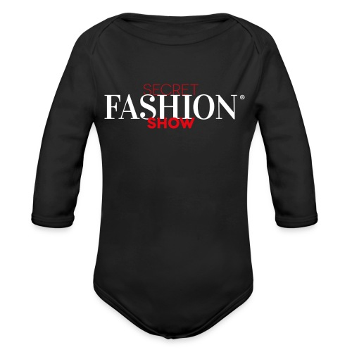 Secret Fashion Show® T-Shirt BABY - Baby Bio-Langarm-Body