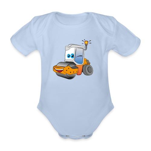 Baustelle Baumaschine - Baby Bio-Kurzarm-Body