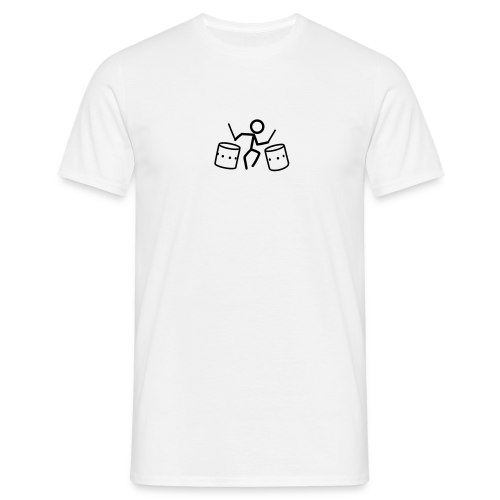Dancing Drum-Stickmen T-Shirts - Männer T-Shirt