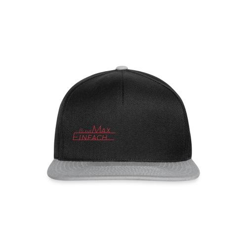 EinfachMax Cap - Snapback Cap