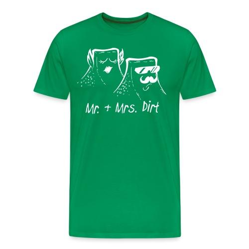 Mr. & Mrs. Dirt - Männer Premium T-Shirt