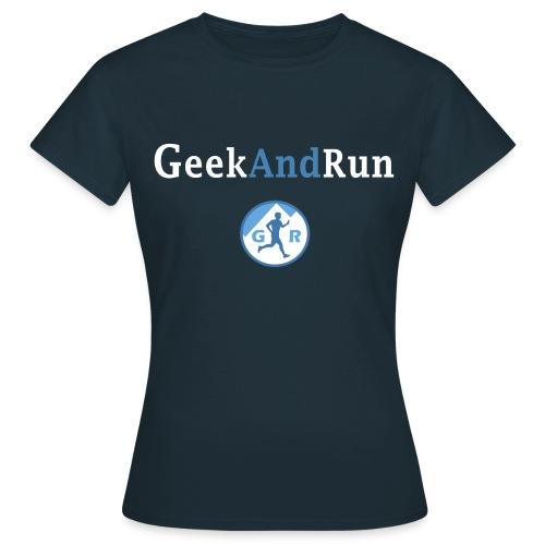 Tshirt femme Geek & Run - T-shirt Femme