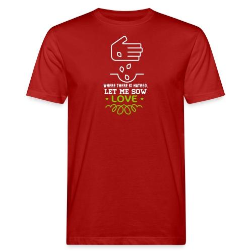 Bio t-shirt - Mannen Bio-T-shirt