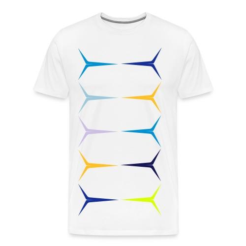 YOUNIVERSAL COLOR - Männer Premium T-Shirt